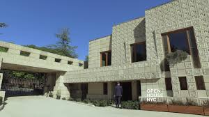 100 Frank Lloyd Wright Textile Block Houses Ennis House A Unique Structure