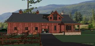 Barn With Living Quarters Floor Plans by The Washington 01