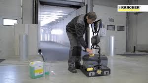 Karcher Floor Scrubber Attachment by Scrubber Drier Br 40 10c Kärcher International