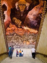Jose Clemente Orozco Murales Hospicio Cabaas by Mural De José Clemente Orozco En El Palacio De Gobierno De