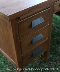 just refinished this antique teachers desk do it myself
