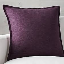 plum decorative pillow