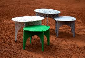Flatpack Furniture Made From Recycled Plastic - MaterialDistrict