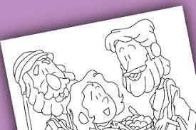 Free Printable Jesus Feed 5000 Coloring Page