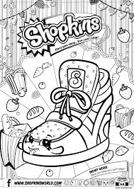 Coloriages Delie On Coloriage Shopkins Sneaky Wedge Dessin Imprimer