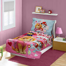 Paw Patrol Bedding Set Skye Best Pups Ever 4 Piece Pink