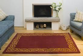 Red Wine On Wool Carpet by Celtic Rug Eternity Wool Rug Wine At Irishshop Com