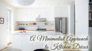 7 Tips For Taking A Minimalist Approach To Kitchen Decor