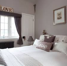 Elephants Breath Paint From Farrow Ball In A Bedroom Setting With Grey Charcoal