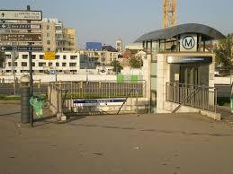 metro denis porte de file denis porte de octobre 2012 acces cote stade