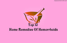 Top 10 Home Reme s Hemorrhoids