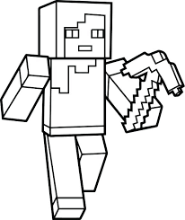 Minecraft Coloring Sheets Best Easy Pages For Kids Free Printable