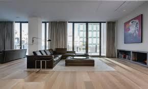 light wood floors with light furniture gray living room ideas