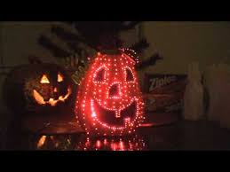 Avon Fiber Optic Halloween Decorations by Fiber Optic Pumpkin Collectible 2002 Naughty Monkey Youtube