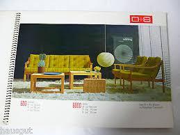 katalog o s osthushenrich söhne polstermöbel design 60er