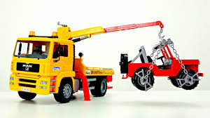 Big Trucks For Kids. Bruder Tow Truck & Jeep. - YouTube Cari Harga Bruder Toys Man Tga Crane Truck Diecast Murah Terbaru Jual 2826mack Granite With Light And Sound Mua Sn Phm Man Tga Tow With Cross Country Vehicle T Amazoncom Mack Fitur Dan 3555 Scania Rseries Low Loader Games 2750 Bd1479 Find More Jeep For Sale At Up To 90 Off 3770 Tgs L Mainan Anak Obral 2765 Tip Up Obralco