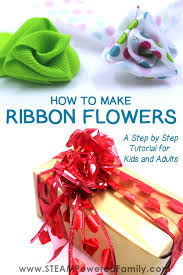 How To Make Ribbon Flowers A Step By Tutorial Image Features Gorgeous Handmade
