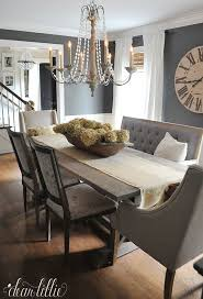Dear Lillie Fall House Tour 2015 Love The Gray Dining Room