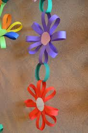 Decor Sukkah Decorations With A Ribbon Shaped Like Flowers And Hung Above The Room At Engage Your Children Making
