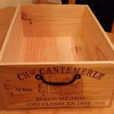 French Wooden Shipping Crates