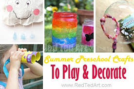 Summer Crafts For Kindergarten And Preschool We Love These Hands On Preshcool