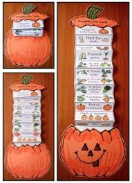 Printable Pumpkin Books For Preschoolers by Life Cycle Of A Pumpkin Pumpkin Crafts Pumpkin Life Cycle