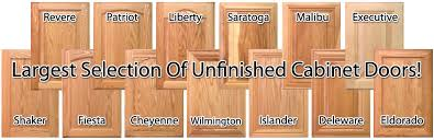 Shaker Cabinet Doors Unfinished by Replacement Kitchen Cabinet Doors At Wholesale Prices Unfinished