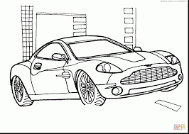 Superb Aston Martin Car Coloring Pages With Luther King Jr And