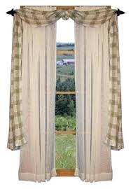Kitchen Curtain Ideas Diy by Primitive Kitchen Curtains U2013 Teawing Co