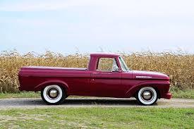 1961 Ford Unibody Pickup Has A Hot Rod Attitude