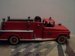 Vintage Tonka Fire Truck #5 Water Pumper | #1908254263 Tonka 1964 Fire Truck Hydrant 100 Original Patina One Owner Nice Vintage 1955 Tonka No 950 6 Suburban Pumper Fire Truck With Fire Truck On Shoppinder Metal Firetruck Vintage Articulated Toy Superior Auction 5 Water 1908254263 Suburban 1963 Paint Real Dept Hose Ladder Tfd A Sliding Ladder Vintage Toys Hydrant Wwwtopsimagescom Toys 1972 Aerial Photo Charlie R Claywell