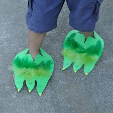 Dino Or Monster Feet