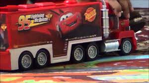 Disney Cars - McQueen Car And Mack Truck Toys Play - Sanjay's Toy ... Mack Truck Merchandise Hats Trucks Black Gold Learn Colors For Kids With Disney Transportation Dinoco The Lightning Mcqueen Transportation Original Acrylic Marilyn Allis Cstruction Videos Learn Colors Pixar And Cars 2 2013 Youtube Vision Group Amazoncom Bruder Granite Dump Toys Games Color Unveils New Highway Truck Calls It A Game Changer Its