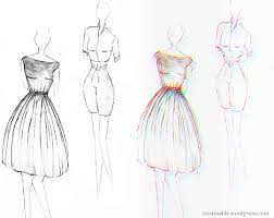 Design Sketches Of Dresses 2015 2016