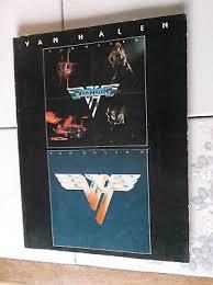 Van Halen I Ii Rock Music Song Book Rare Used Eddie Warner Bros Pub 1980