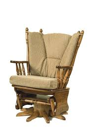 Swivel Glider Rocker Peaceful Valley Amish Furniture regarding