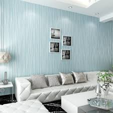 blau gestreiften tapeten für wände blau streifen wand papier vlies wohnzimmer tapete streifen papier rolle painel de parede 3d