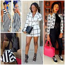 Are You In On The Latest Fashion Trends Of Stripe Black And White Attires