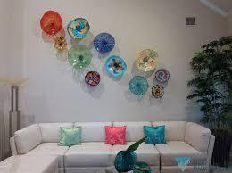 Glass Beverly Albrets Blown Wall Art Tropicalglassdesigns