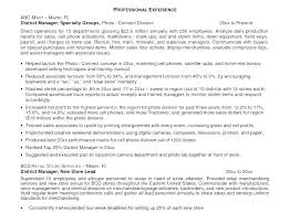 Store Manager Resume Examples Resumes For Managers Retail