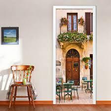 European Style Dining Room Cafe 3D Mural Wallpaper PVC Self Adhesive Waterproof Home Decor DIY