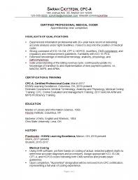 Medical Coder Resume Samples Akbakatadhinco