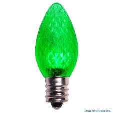 c7 led l dimmable green light 25 bulbs bulbamerica