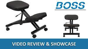 Ergonomic Kneeling Posture Office Chair by Ergonomic Kneeling Stool Kneel Office Chair Boss B248