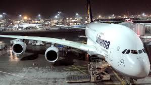 Lufthansa Airbus A380 Flight LH796 from Frankfurt to Hong Kong