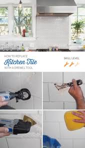 Regrouting Floor Tiles Youtube by Best 25 Removing Grout From Tile Ideas On Pinterest Diy Grout