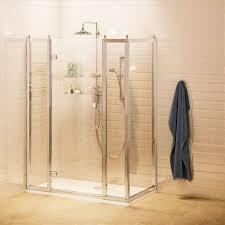 traditionelle duschkabine burlington mit paneelen