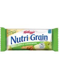 Nutri Grain Apple Cinnamon 13 Oz Box Of 16 Packs SKU1661