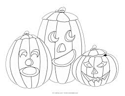 Pumpkin Patch Coloring Pages Printable by Halloween My Coloring Land