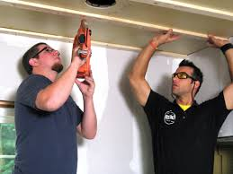 Hanging Drywall On Angled Ceiling by How To Install A Tongue And Groove Plank Ceiling How Tos Diy